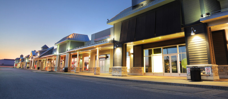 Commercial Strip mall