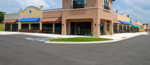 Commercial Concrete Cleaning in Akron, OH by Streak Free.